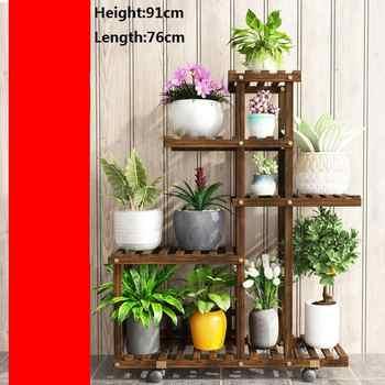 Shelves For Mueble Soporte Interior Estante Estanteria Para Plantas Stojak Na Kwiaty Dekoration Outdoor Flower Shelf Plant Stand