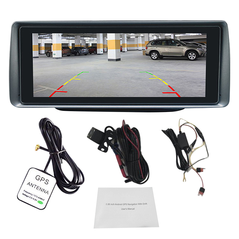 Car-Dvr Video-Recorder Remote-Monitor Dashcam Android5.1 Wifi Naivgation New 3G For Gps