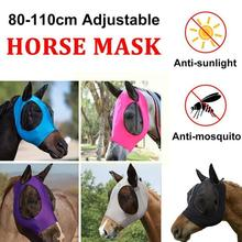 Breathable Fly-proof Net Horse Summer Mosquitoes Decoration Eyes Animal For Family Horse Of And Animal Equinos