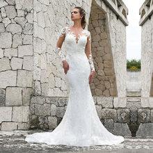 Eightale бальное платье свадебное с кружевной аппликацией Совок