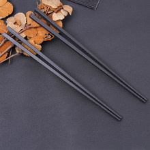 1Pair Chinese Fu Chopstick Learner Gifts Set Exquisite Non-Slip Kitchen Accessories Portable Sushi Chop Sticks(China)