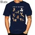 Мужская футболка с изображением лисы мира, забавная обучающая футболка с изображением животных, женская и Мужская футболка