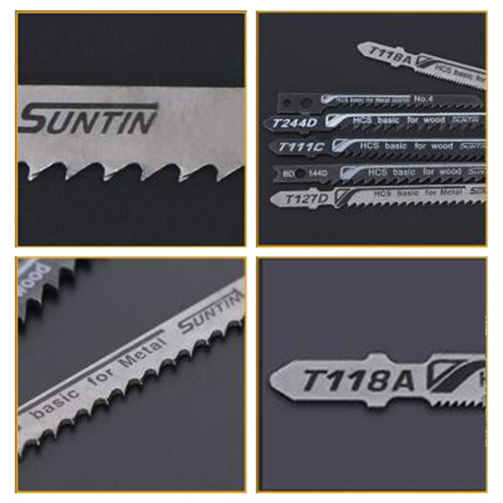 5Pcs T244D HCS Long Jigsaw Blade Reciprocating Saw Blade For Electric Power Tool