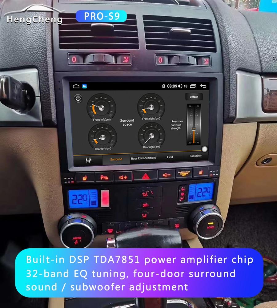 For Volkswagen Touareg GP 2002-2010 car radio multimedia video player Volkswagen Vw Touareg GPS navigation Android 10 4G version