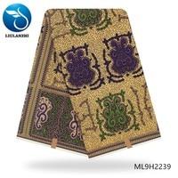 BEAUTIFICAL tissu wax anakra 6 yards 2019 dutch wax high quality printing ankara tissu for dress ML9H2226 42