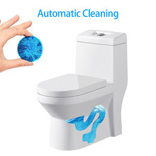 1 Tablet Automatic Toilet Cleaning Agent Blue Bubble Sewer Tank Cleaner bano Bath Odor Remover Bathroom Deodorizer Freshener(China)