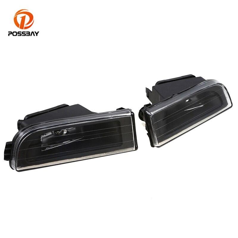 Popsbay автомобильные передние и нижние противотуманные фары, прозрачные линзы, корпус противотуманных фар, Крышка для автомобиля, замена для ...