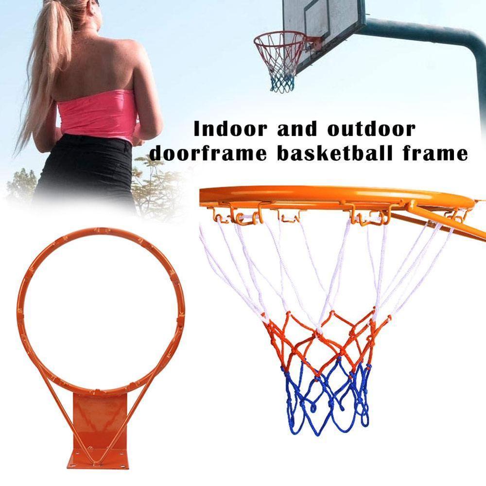 32cm Wall Mounted Basketball Ring Hoop Outdoor Hanging Basket Kid Sport Toy Gift Basketball Hoop On The Door
