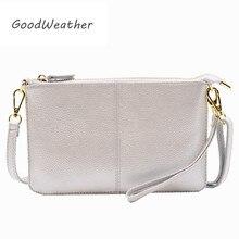 مصمم حقيبة صغيرة للنساء موضة زيبر السيدات حقائب اليد جلد طبيعي المغلف براثن الإناث مع حزام مخلب المحفظة