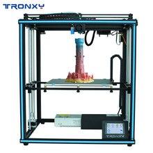 Tronxy Aggiornato Nuovo X5SA 24V 3D Stampante Kit FAI DA TE Auto Livello di Grande Formato di Stampa di calore letto 3d Macchina Filamento stampa Facesheild