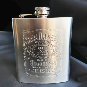 Alcohol Liquor Bottle Flagon Whiskey Hip-Flask Stainless-Steel Small Portable Hot-Sale