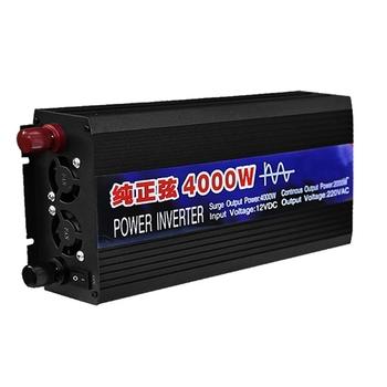 2000W 3000W 4000W falownik DC 12V 24V do AC 220V napięcie falownik solarny i konwerter przenośny Mini samochód czysta fala sinusoidalna falownik tanie i dobre opinie Przetwornice DC AC CN (pochodzenie) 25 8x15x7 5cmx3000W 27 7x15x7 5cmx4000W DC AC Inverters 50Hz JEDNA 1000kw 2 5kg 3kg