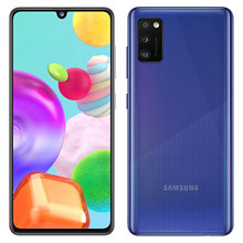 Samsung galaxy a41 a415f celular original desbloqueado núcleo octa impressão digital 4gb ram 64gb rom 6.1 camera 4848mp câmera sim duplo