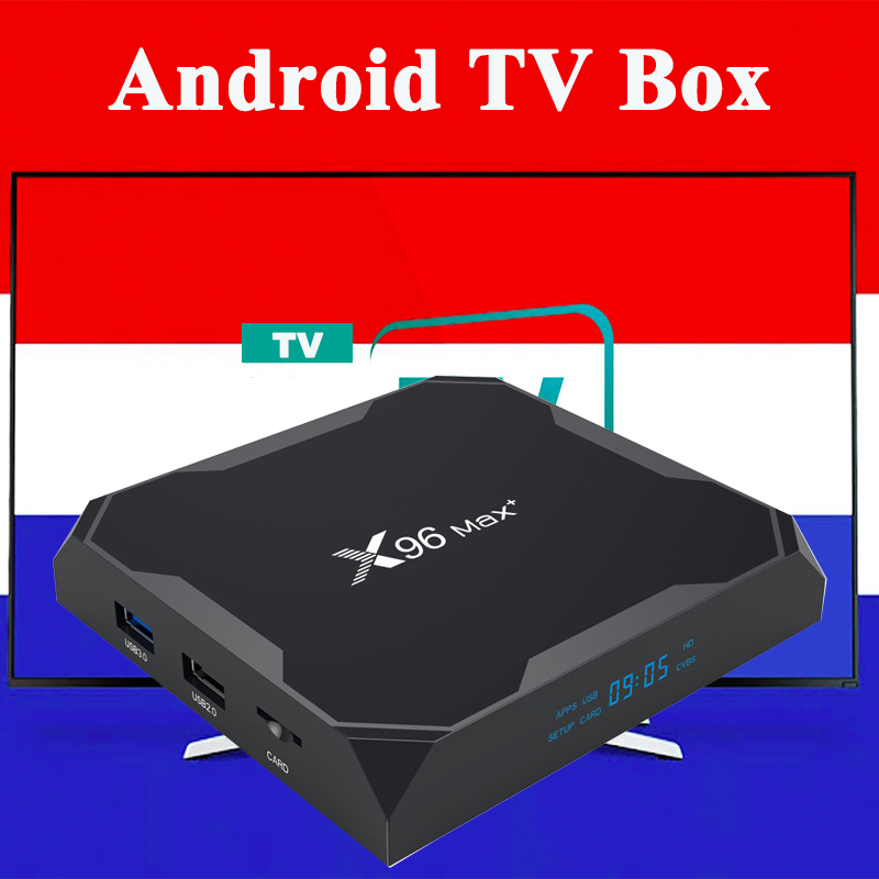 X96MAX+ Android Smart tv Box TV box only no channels or app included