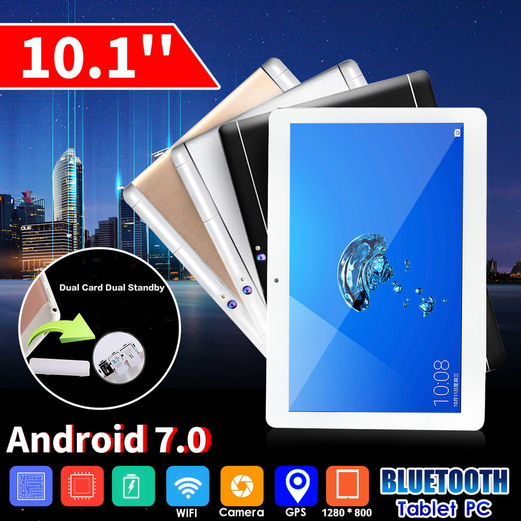 2020 New 10.1 Inch 6G+128G Tablet PC Phablet Android 8.0 HD WIFI 2 SIM  4G Ten Core Phone Pad Metal Tablets For Kid Gifts Tablet