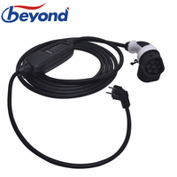 DUOSIDA EV Charger Type 2 Connector EVSE Portable Charging Cable 5M 6M 16Amp EU Schuko Plug for Electric Car Fast Charger