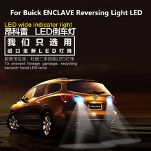 For Buick ENCLAVE 2009-2019 Reversing Light LED T15 9W 5300K Retired Auxiliary Car Refit