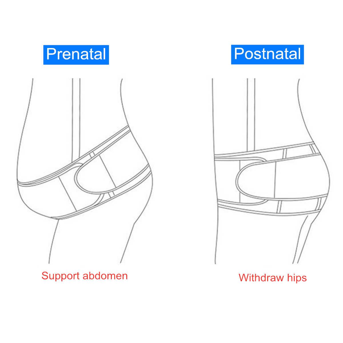 Soporte para maternidad cinturón cintura Abdomen vientre embarazada banda para el vientre correa para el hombro banda para el vientre protector para embarazo