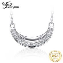 JewelryPalace Cats CZ Sterling Silver Pendant Necklace 925 Sterling Silver Chain Choker Statement Collar Necklace Women 45cm jewelrypalace dog paw cz sterling silver pendant necklace 925 sterling silver chain choker statement collar necklace women 45cm