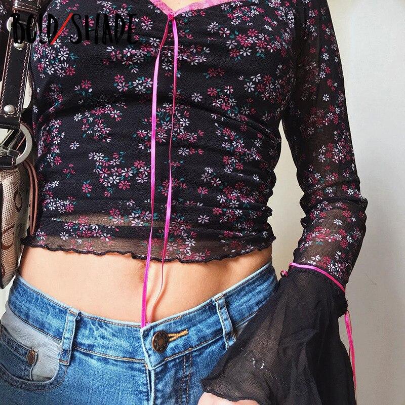 Купить bold оттенок готический панк модные 90s гранж футболки длинными