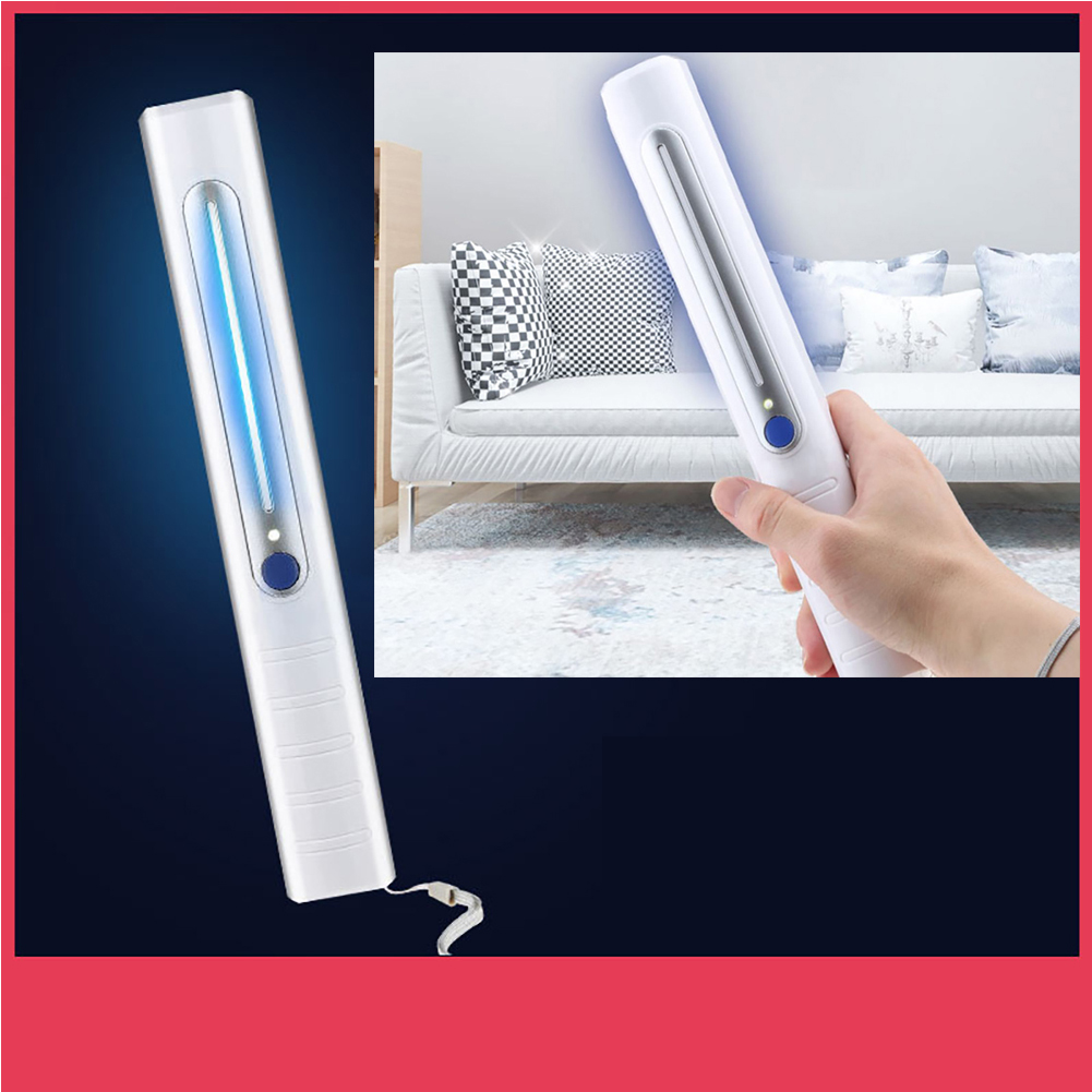 Portable Rechargeable UV Sterilizer Light Home Office Timer UV Disinfection Lamp for Bathroom Dining Room Kitchen UV light