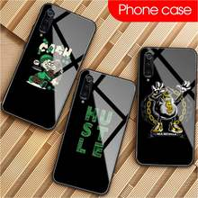 Time is Money Phone Case Tempered Glass For XiaoMi 8SE 6 8lite MIX2S Note 3 Redmi Note 7 5 4 Redmi 6A 5Plus 4X(China)