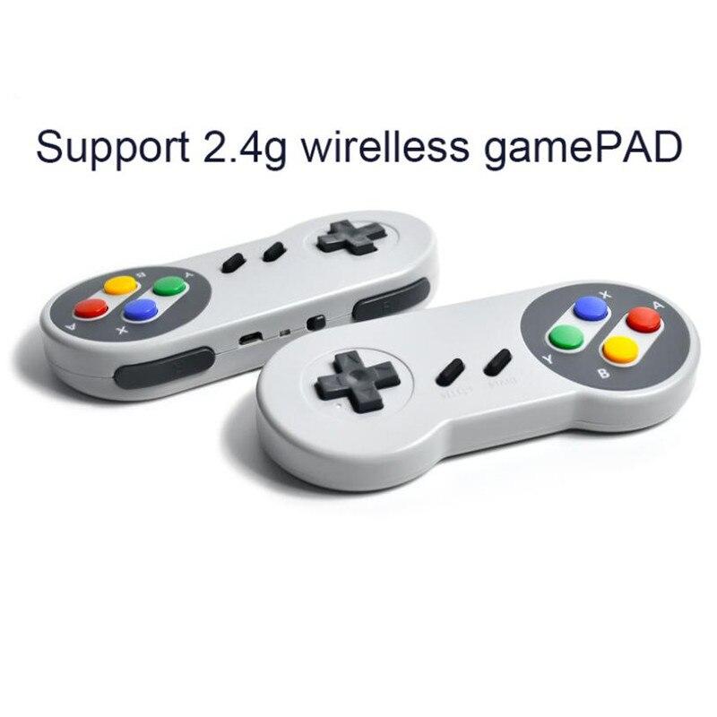 Купить беспроводной геймпад powkiddy 24g hdmi игровая консоль 821 со