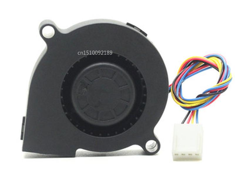 Free Shipping 5cm EF50151BX-1C02C-S99 12V 1.8W 5015 Turbine Cooling Fan