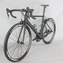 Complete bike  700C Carbon Fiber Road Bike Complete Bicycle Carbon Cycling BICICLETTA Road Bike shiman R7000 Bicicleta