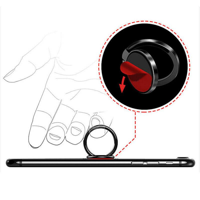 Universal 360+180  Rotating Phone Ring Holder Magnetic Mobile Phone Car Holder Multifunctional Mobile Phone Holder Finger Ring 3