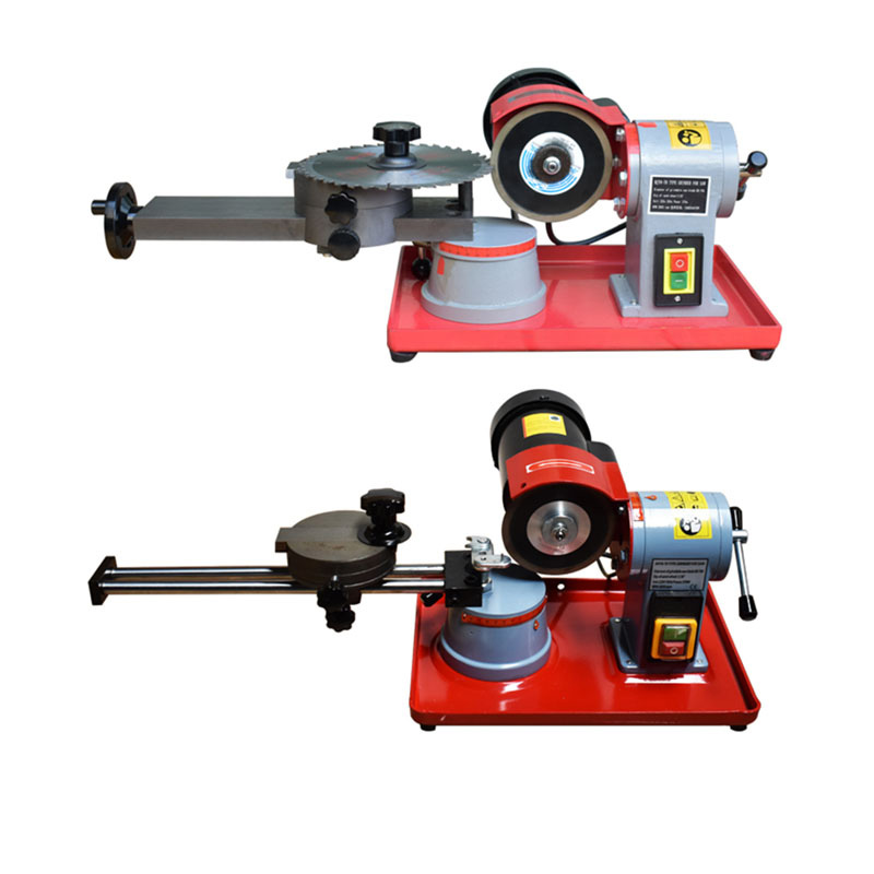 220V Round Carbide Saw Blade Grinder Mill Sharpener Alloy Saw Blade Rotary Angle Grinder Tool Manual Wood Working Machine