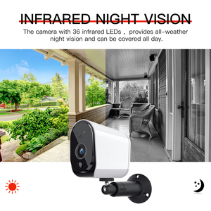 Image 5 - FREDI Lower Power Outdoor IP Camera 1080P Really Wireless Surveillance Camera Home Security Waterproof Battery WiFi IP Camera