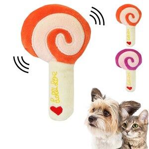 Animais dos desenhos animados brinquedos do cão enchido guinchar brinquedo do animal de estimação bonito quebra-cabeça de pelúcia para cães