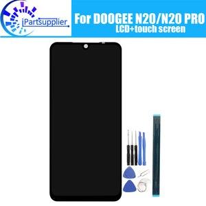 Image 1 - DOOGEE N20 شاشة الكريستال السائل + مجموعة المحولات الرقمية لشاشة تعمل بلمس 100% الأصلي جديد LCD + اللمس محول الأرقام ل DOOGEE N20 برو