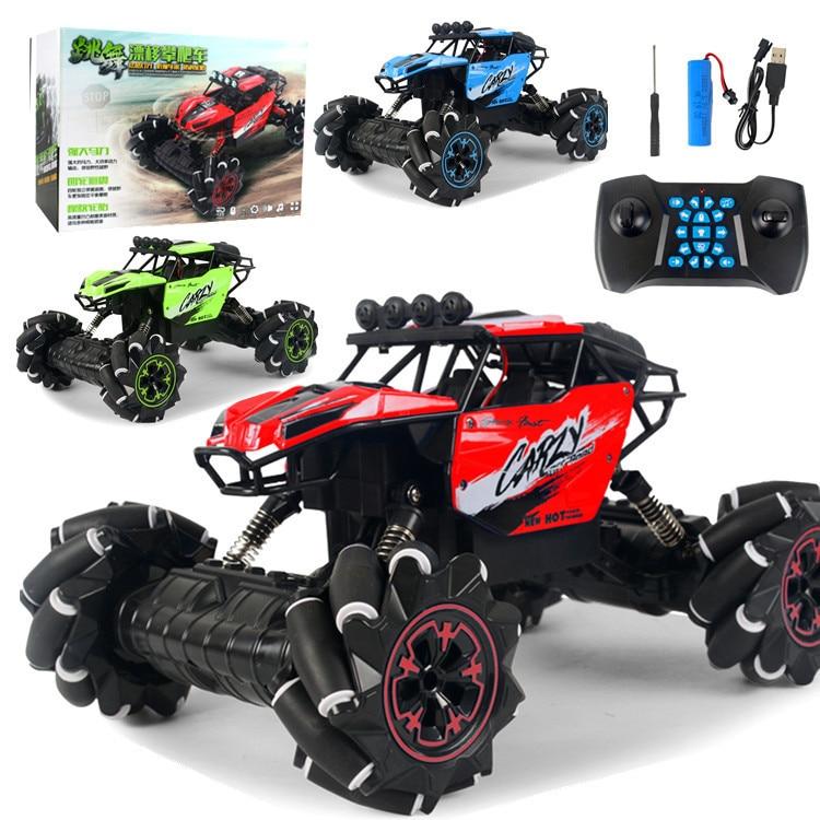 1/16 rc carro 2.4 ghz 4wd nova tecnologia rc carro fora de estrada música de controle remoto carro dublê deriva escalada carro brinquedos para crianças presentes