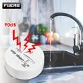 Fuers детектор утечки сигнализации 4 шт. датчик утечки воды 90dB беспроводной детектор утечки воды безопасность дома домашняя охранная сигнализ...
