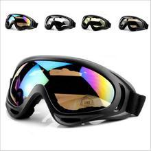 Skiing Snowboarding Goggles Double Layers Anti-fog UV Bicycle Ski Goggles Sunglasses Riding Bike Ski Accessories