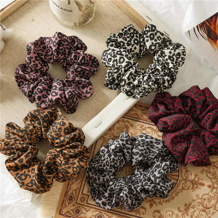 Scrunchies Hair Rope Ties For Girls Women Ponytail Holder Hair Rings Hair Accessories New Knotted Plaid Elastic HairBands