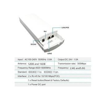 Image 5 - 9344 9331 Chipset MINI WIFI Router Ripetitore A Lungo Raggio 300Mbps2. 4Ghz1 3Km Outdoor AP Router CPE AP Client Router Ponte ripetitore