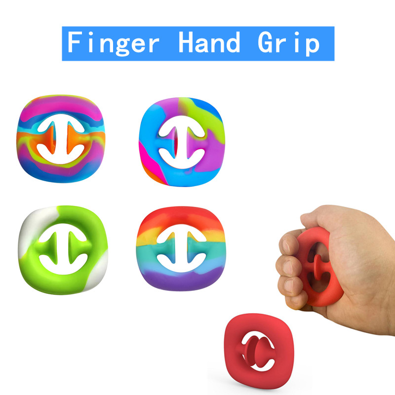 Toys Fidget-Toy Autism Finger Anti-Stress Funny Noise-Sensory Snapperz Adult Hand-Grip