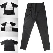 Высокое качество Женские топы с коротким рукавом/длинные штаны Спортивная одежда для фитнеса с потоотделение M88