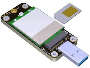 Image 3 - חדש לגמרי Ngff M.2 מפתח B כדי USB3.0 מתאם לוח עבור 3g/4g/5g LTE 3042 3052 WWAN כרטיס גדול Volatge USB3.0 כדי M.2 Riser כרטיס