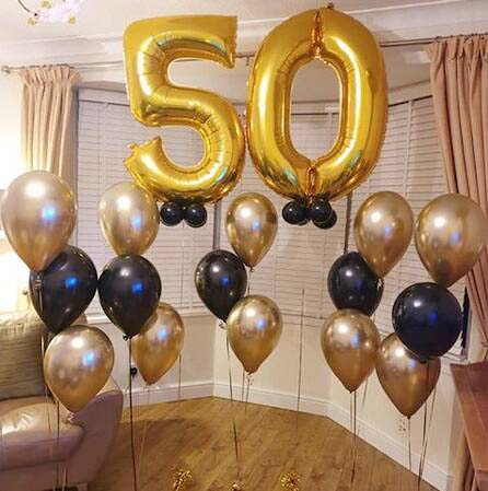 "10/"" Metallic Balloons Pearl Sempertex Party Celebration Birthday Decoration"