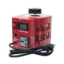 TDGC2-0.5KVA Type 500VA Single Phase Manual Variac Transformer Contact Voltage Regulator Input 220v Output 0-250VAC 50/60Hz