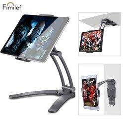 Fimilef 2-In-1 Dapur Tablet Stand Dinding Mount/Di Bawah Kabinet Pemegang Sempurna untuk Membaca Resep Di meja atau Menggunakan