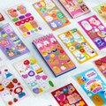 50 Sheets/pack Niedlichen Cartoon Tiere Spule Aufkleber Buch Kreative Hand Konto Dekoration Collage DIY Material Aufkleber