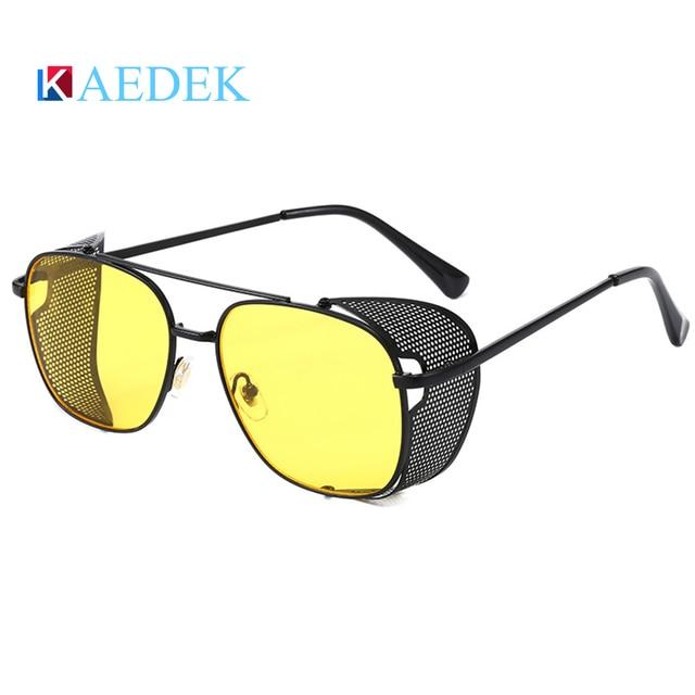 Фото бренд kaedek 2020 мужские очки для вождения поляризованные солнцезащитные