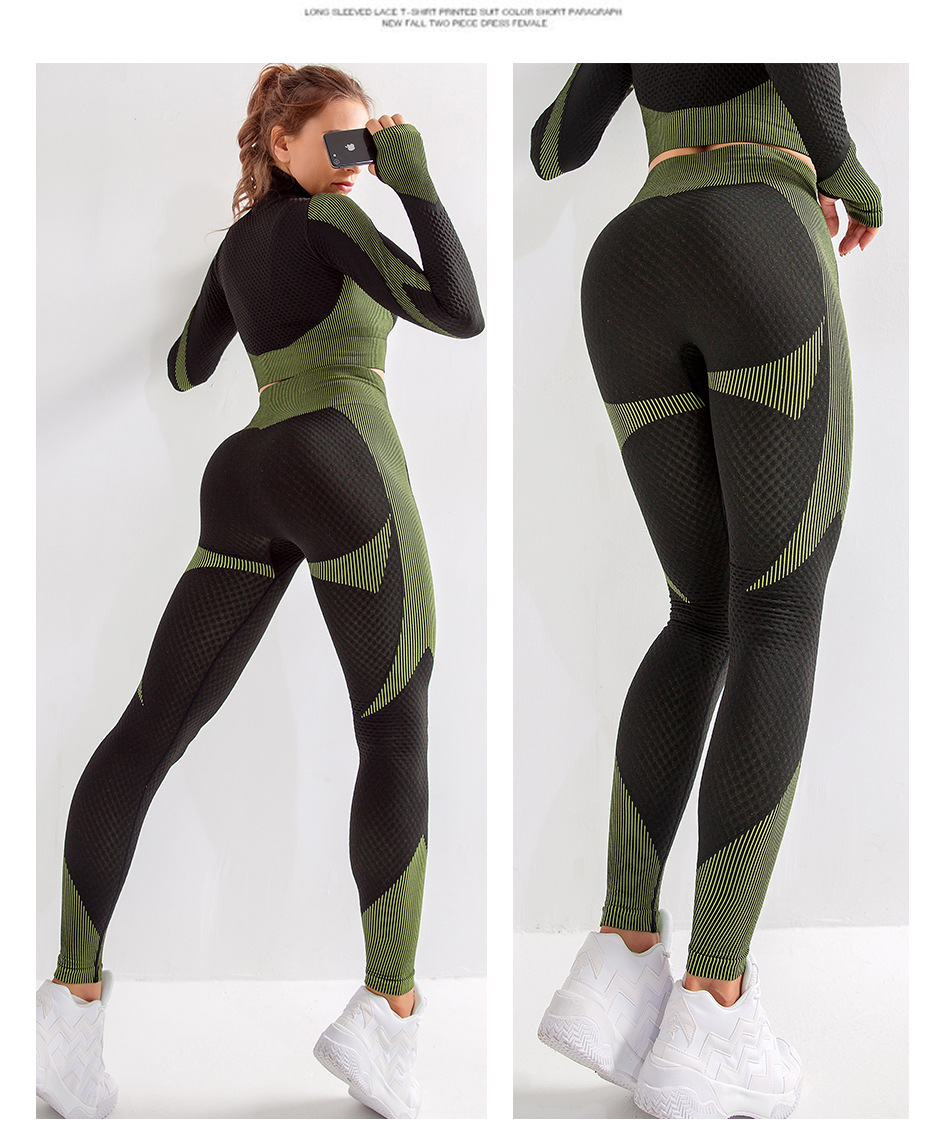 Suits yoga outfit  (8)