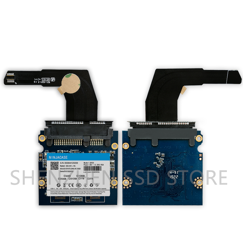New 128GB - 2TB SSD for Mac 2012 Mini A1347 with converter plus tool  Add a second SSD and hard disk cable MD387 MD388 MC815 816-1