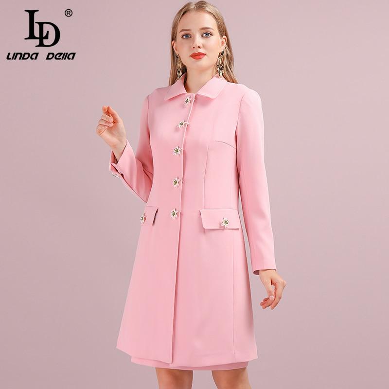 LINDA Pockets Sleeve Pink